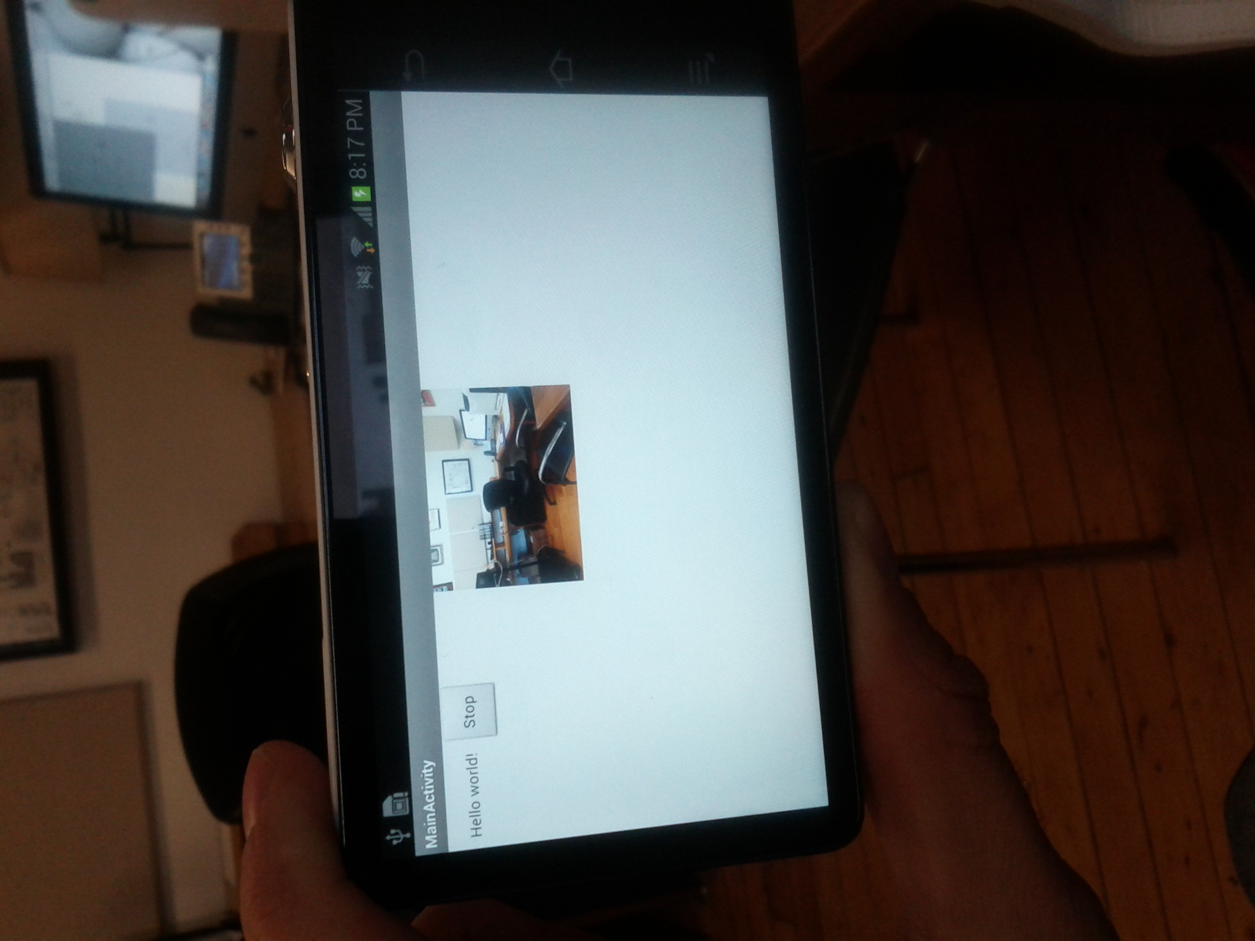 Android Live Streaming courtesy of JavaCV and FFMPEG – Not sLop